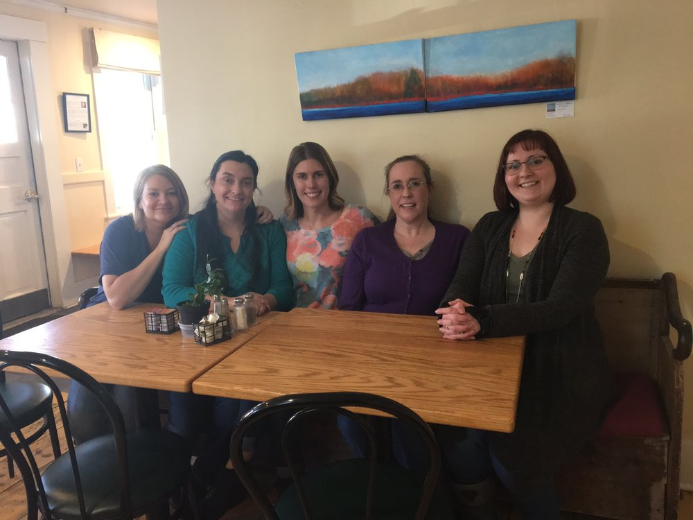 Left to Right: Lena Zerbinopoulos, Angela Shepard, Kimberly Pang, Tammy Andrew, Annaca Cook