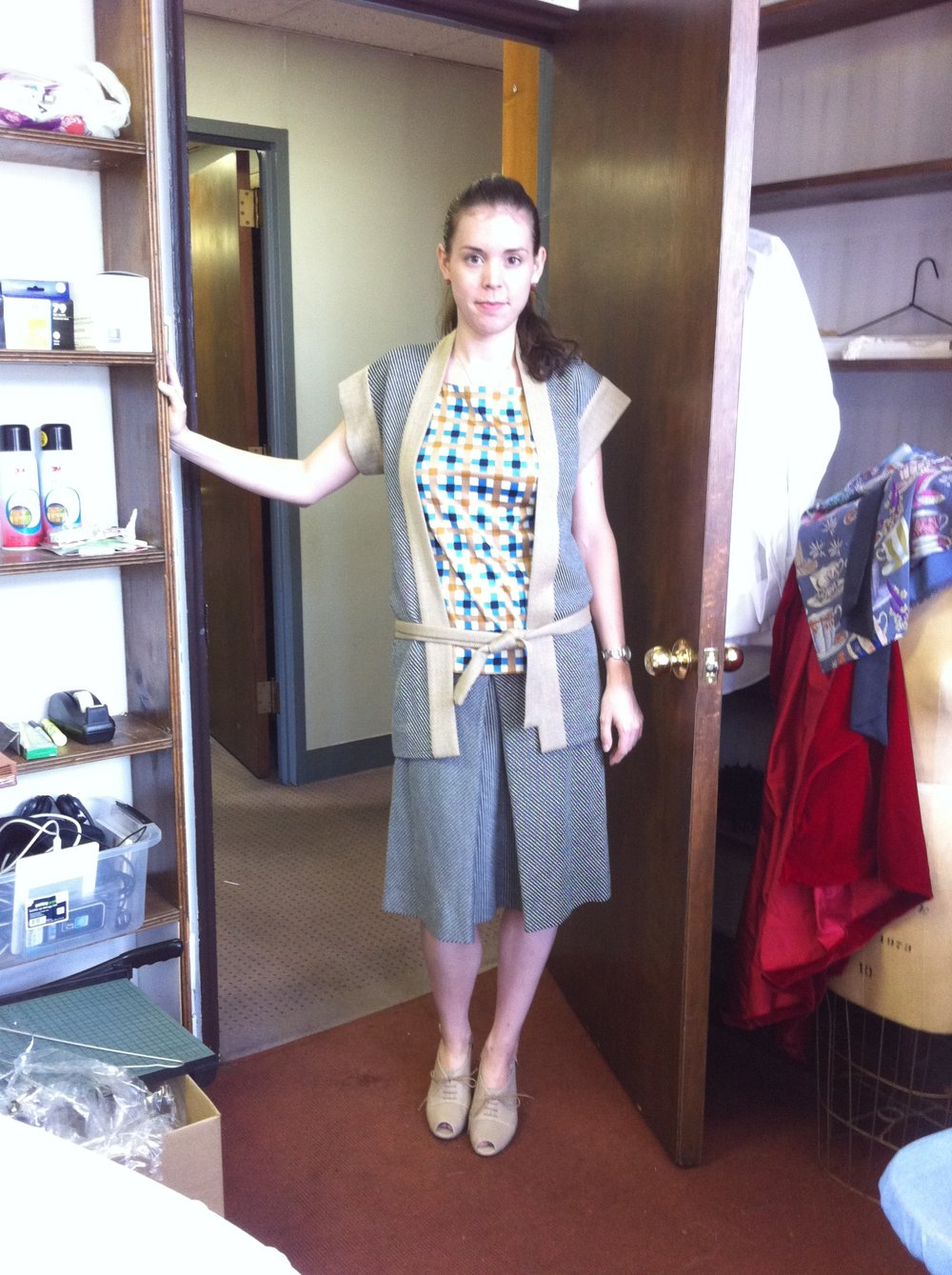 7 - Acting as a fit model for one of my favorite daytime outfits for Gatsby I helped design.jpg