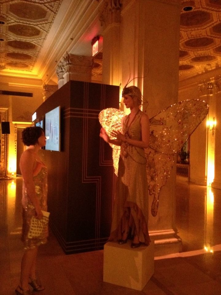 13 - Me with the Butterfly wings at Gatsby premire party at the Plaza Hotel in NYC 2013.jpg