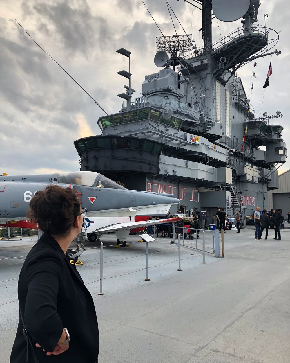 1 - Exit12 onset on the USS Intrepid.jpg