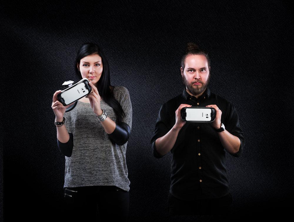 Samsung Galaxy Gear VR-store ad