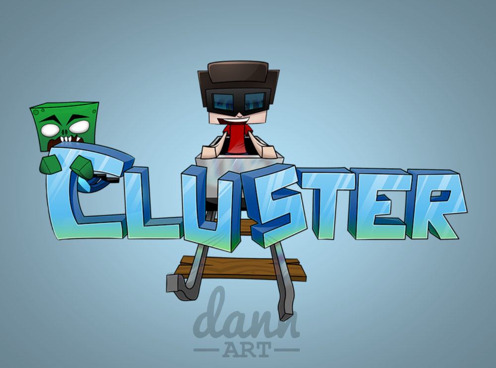 First Minecraft server logo I made, keeping it here for nostalgia's sake ;)