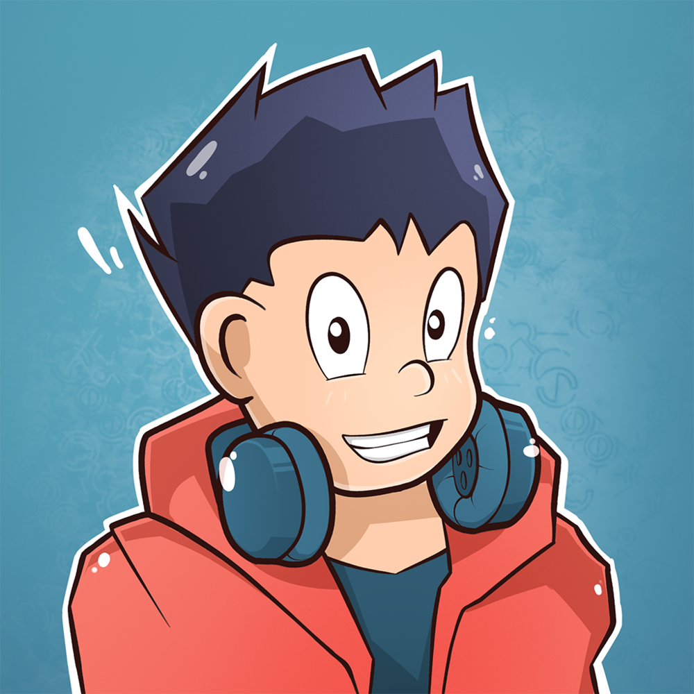 This is an example of cartoon avatar design.