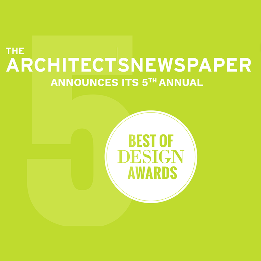 Juror for the AN Best of Design Awards - 12/1/2017