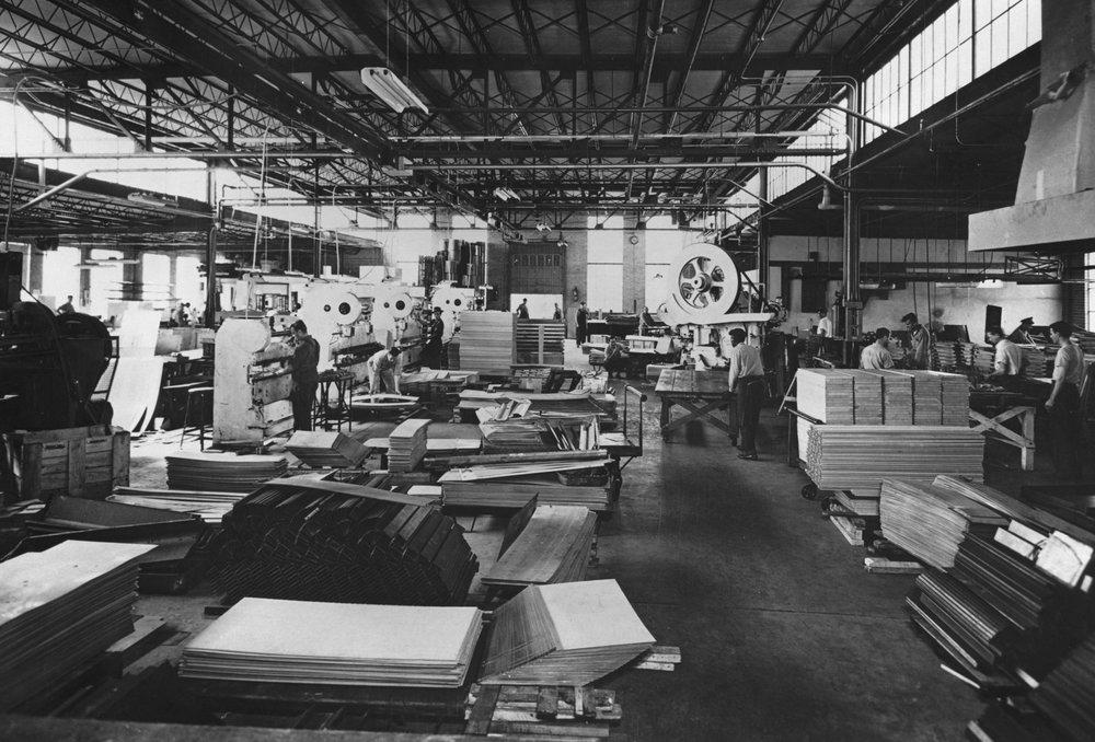 Shure Manufacturing floor