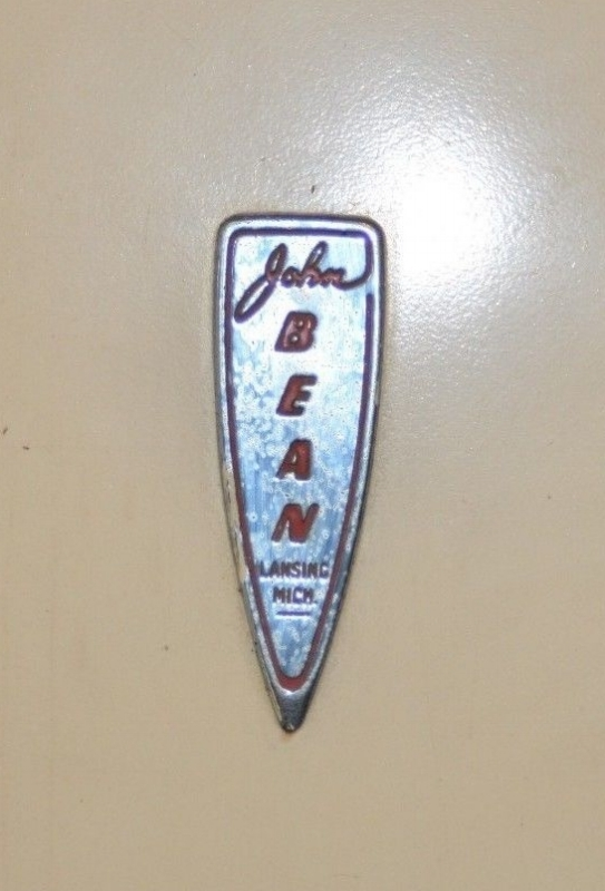 John Bean Visualiner Emblem