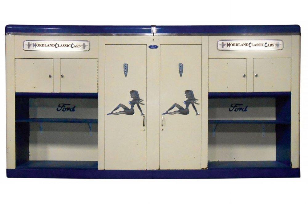 John Bean upper cabinets