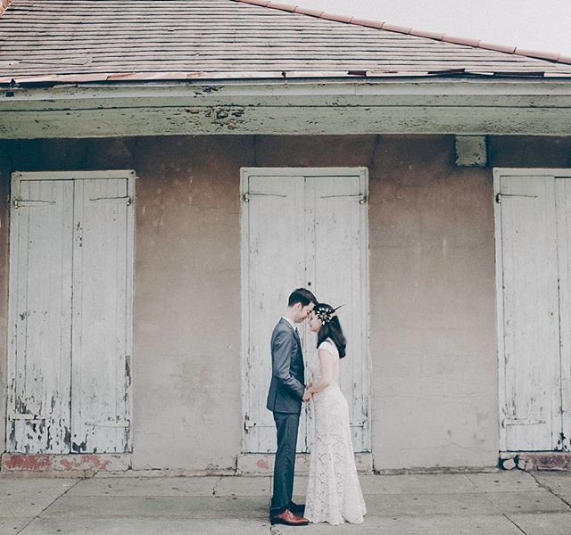Quiet moments and patina. . . . . . . #neworleanselopement #frenchquarterelopement #nolawedding #nolawed #photobugcommunity #alwaysneworleans #thatsdarling #followyournola #neworleansqedding planner #frenchquarterwedding #southernbride #thatlacommunity #elopementwedding #patina #historicstreet #southerncharm #yesisaworld #loveisaplace