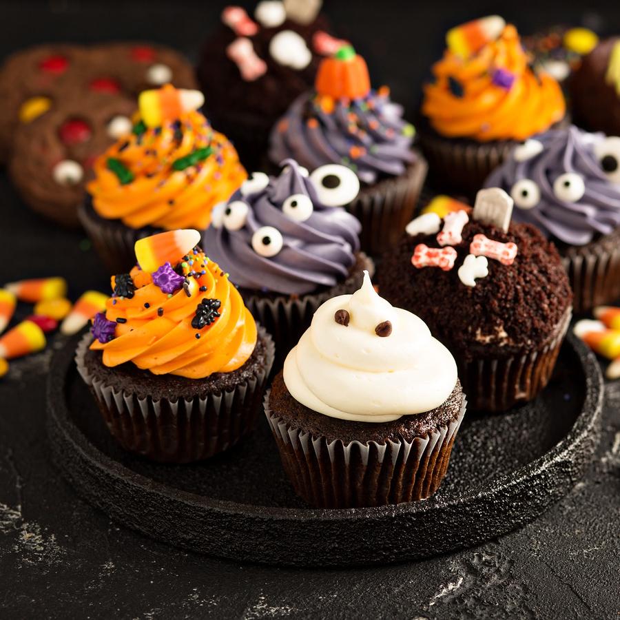 halloween cupcakes: oct 28 — amie bakery