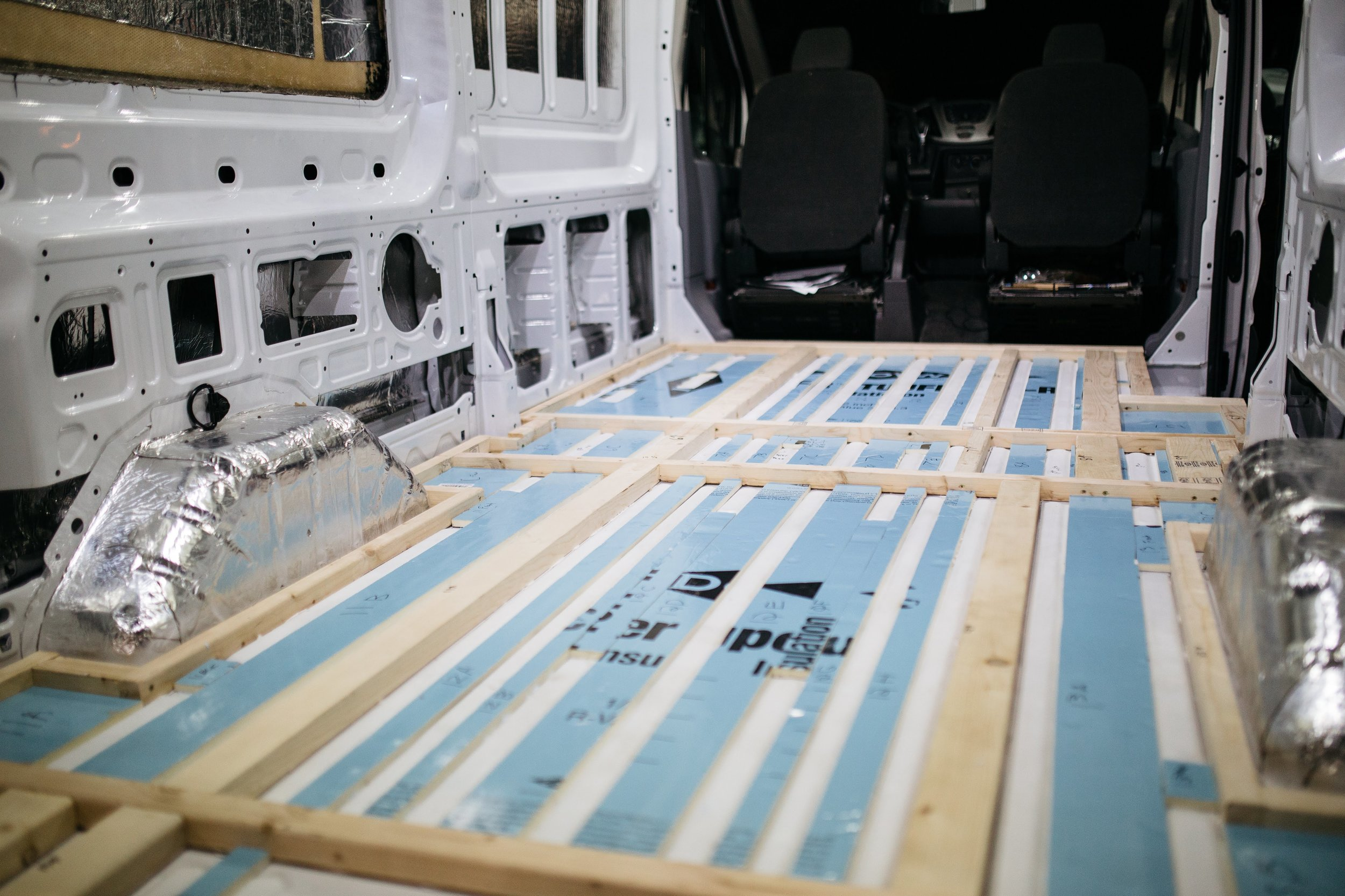 Van Build Overview — The Picture Perfect Adventure