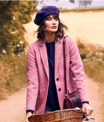You can buy this gorgeous coat by Joules    here   .