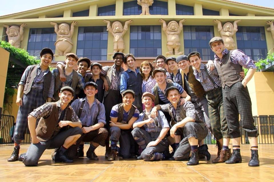 Newsies at Disney Studios Lot