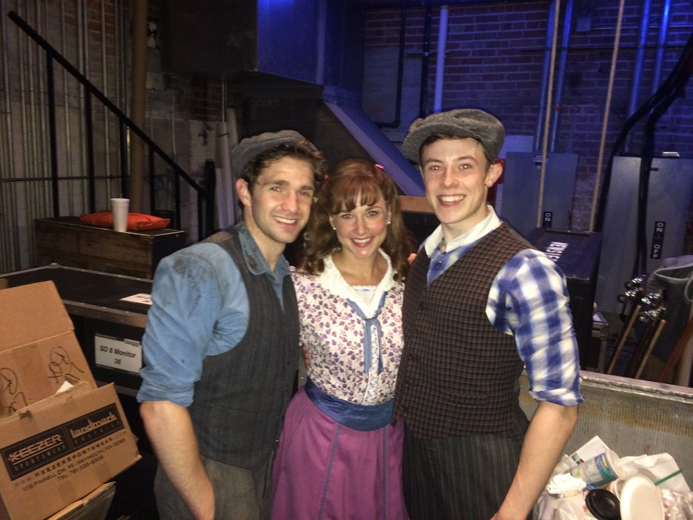 First Performance as Davey in Disney's NEWSIES