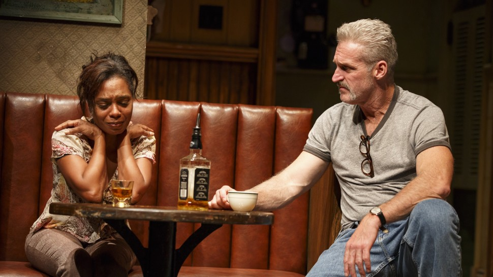 The cast of  Sweat, now on Broadway. (Joan Marcus)