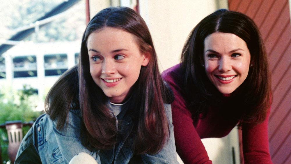 Alexis Bledel and Lauren Graham in  Gilmore Girls .