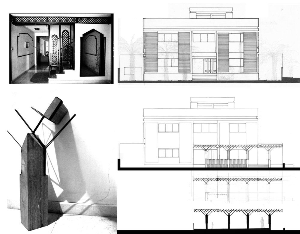 2006 Porch design for a typical Kuwaiti house