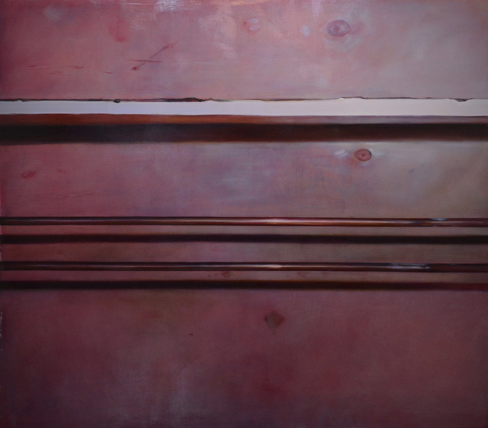 "Life Support,  2014  64""x72"" oil on linen"
