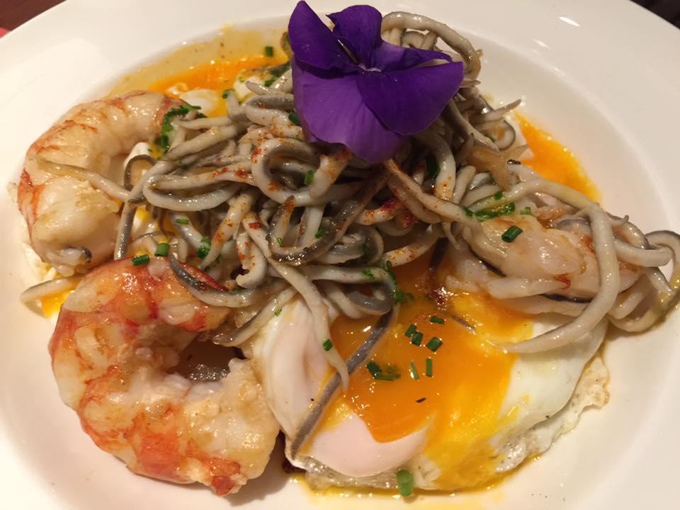 Shrimp with eel - shot by Wendy Su