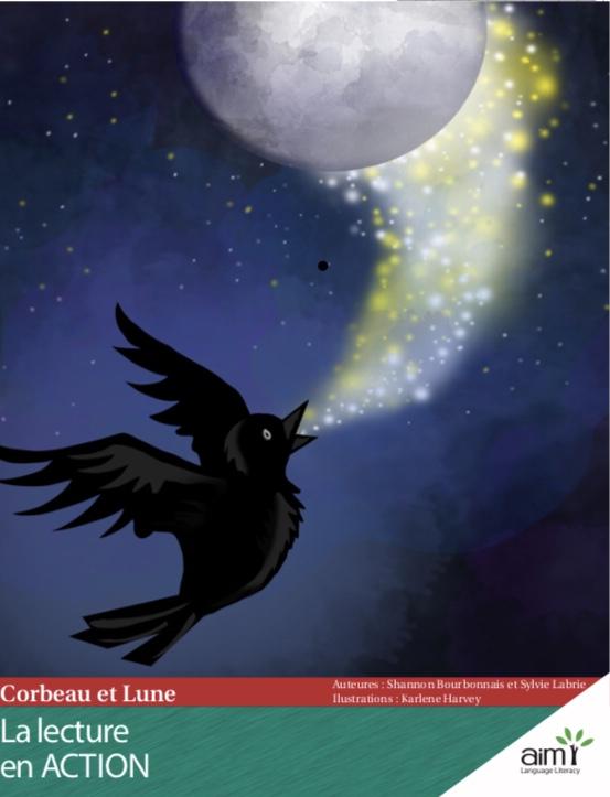 Corbeau et Lune