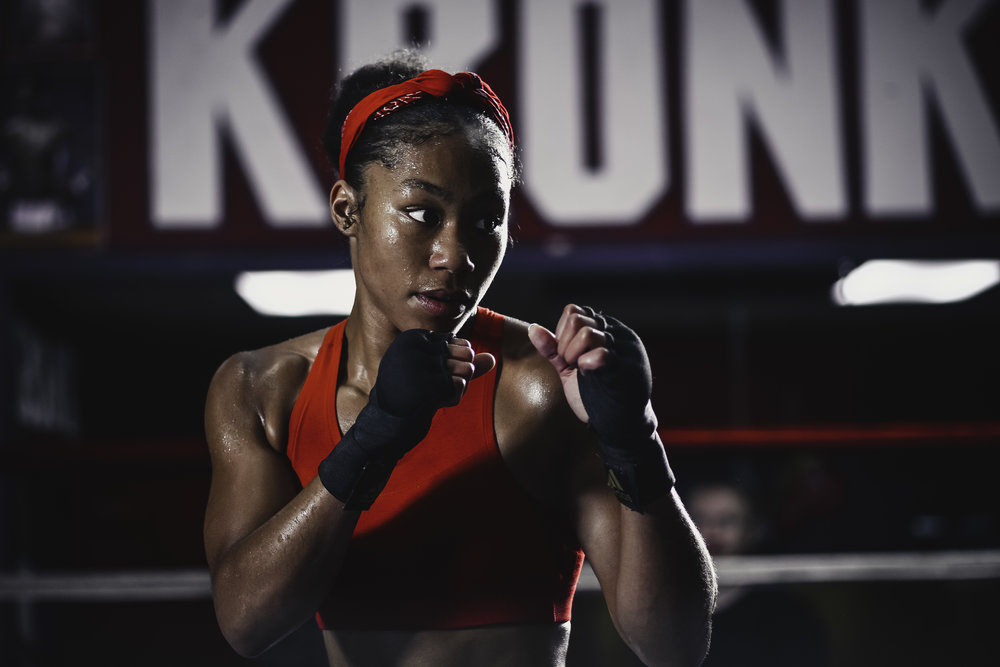 Alycia Baumgardner Women's Boxing
