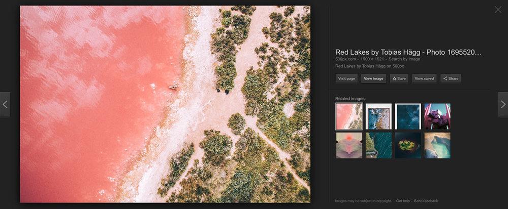 'Rose-Gold' - not a lake in Esperance