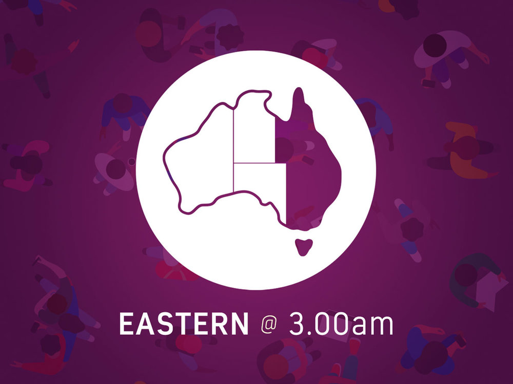 QLD / NSW / ACT / VIC / TAS   Tuesday June 6 at 3.00am