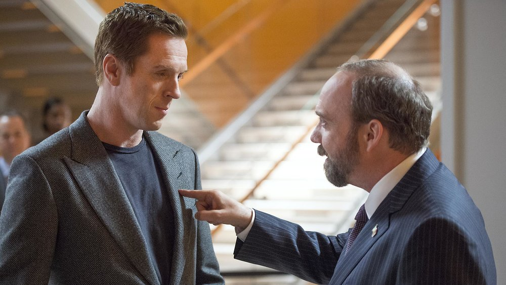 First They Take Manhattan: Damian Lewis (Bobby) and Paul Giamatti (Chuck) in Stan's  Billions