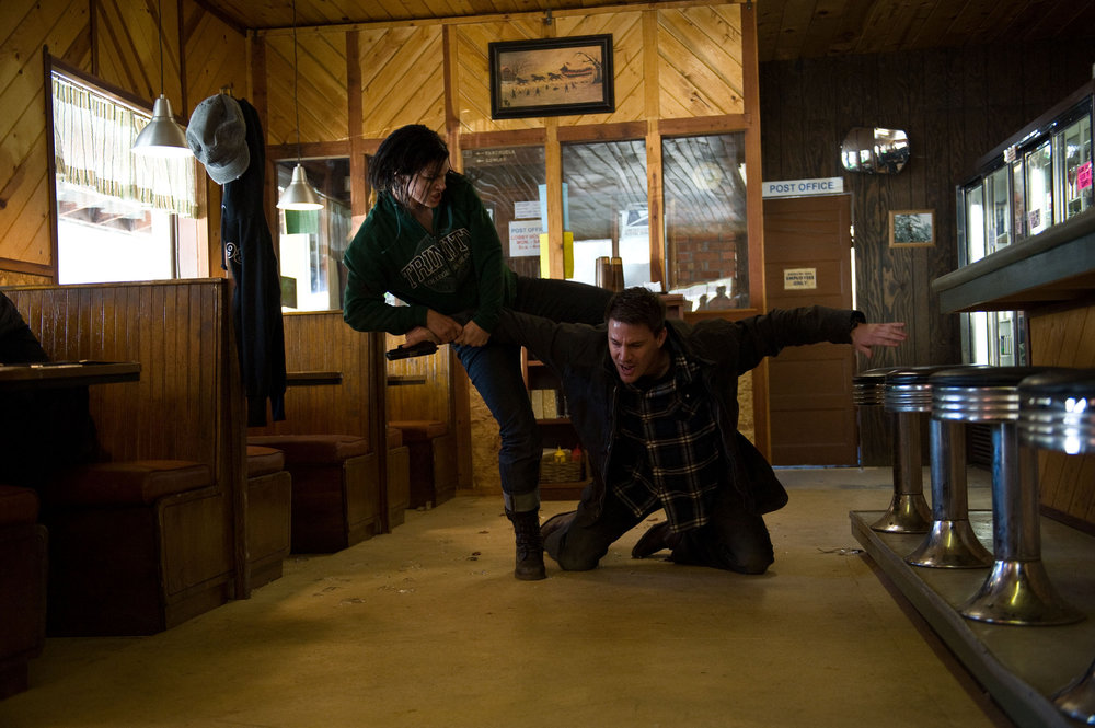 Blow Up: Gina Carano (Mallory) and Channing Tatum (Aaron) in Netflix's  Haywire