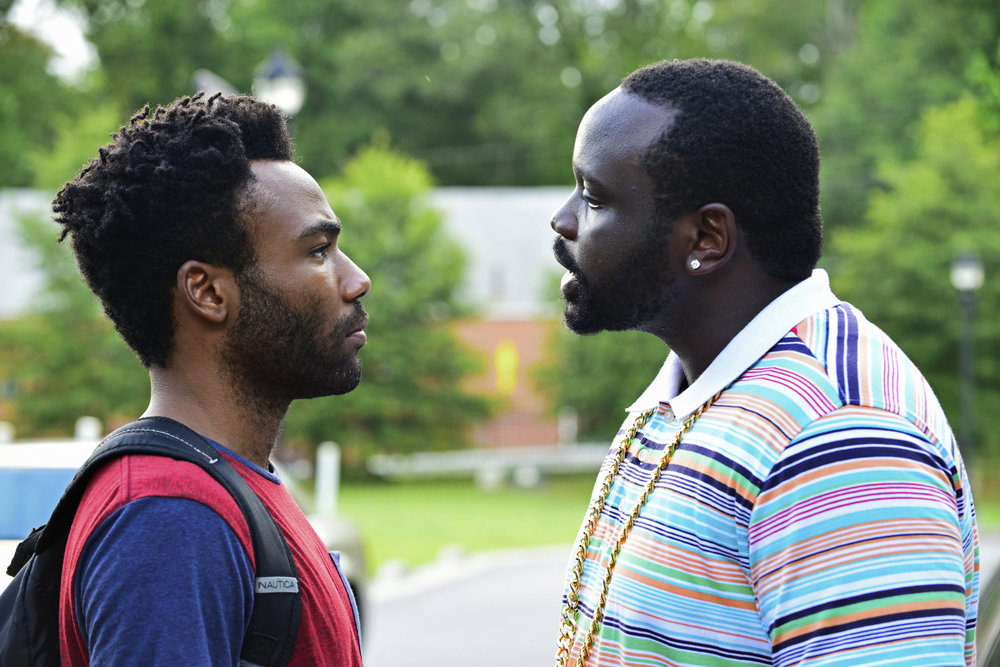 Outkasts: Donald Glover (Earn) and Brian Tyree Henry (Paper Boi) in SBS on Demand's  Atlanta
