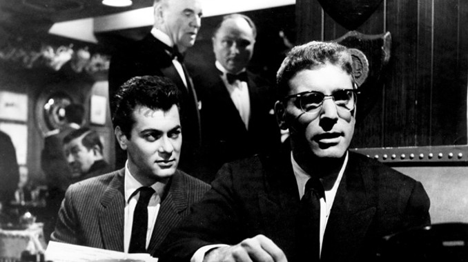 Nightcrawlers: Tony Curtis (Sidney) and Burt Lancaster (J.J.) in  Sweet Smell of Success