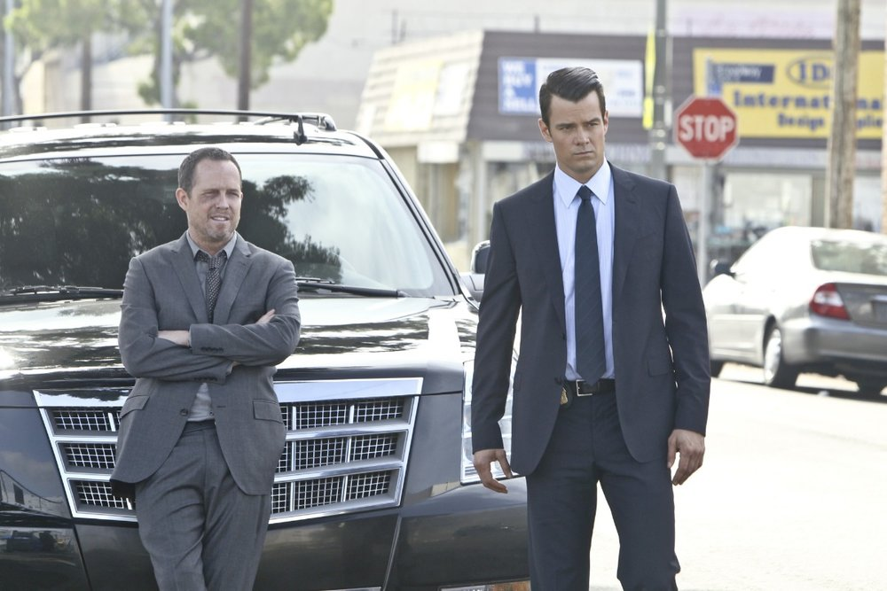 Cop Out: Dean Winters (Russ) and Josh Duhamel (Milt) in Stan's  Battle Creek