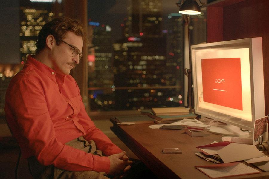 Screen Saviour: Joaquin Phoenix (Theodore) in Netflix's  Her