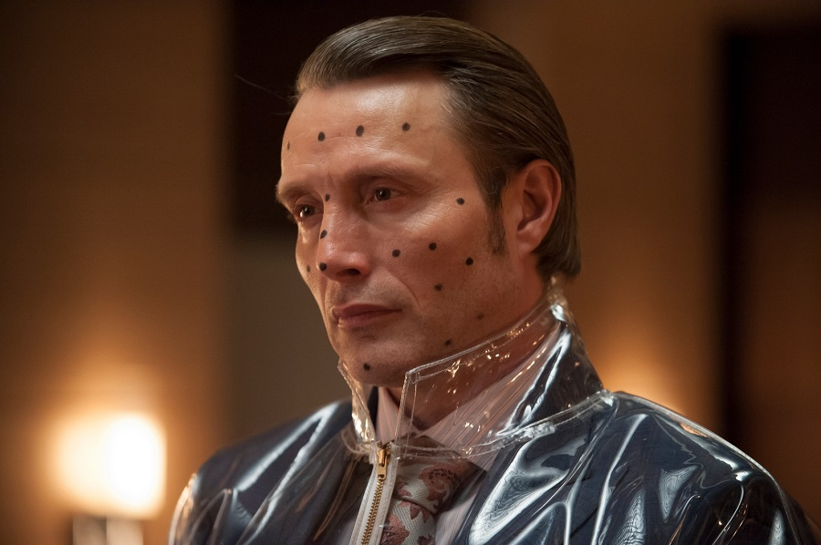 He's deadly, wrapped in plastic: Mads Mikkelsen (Hannibal Lecter) in Stan's  Hannibal