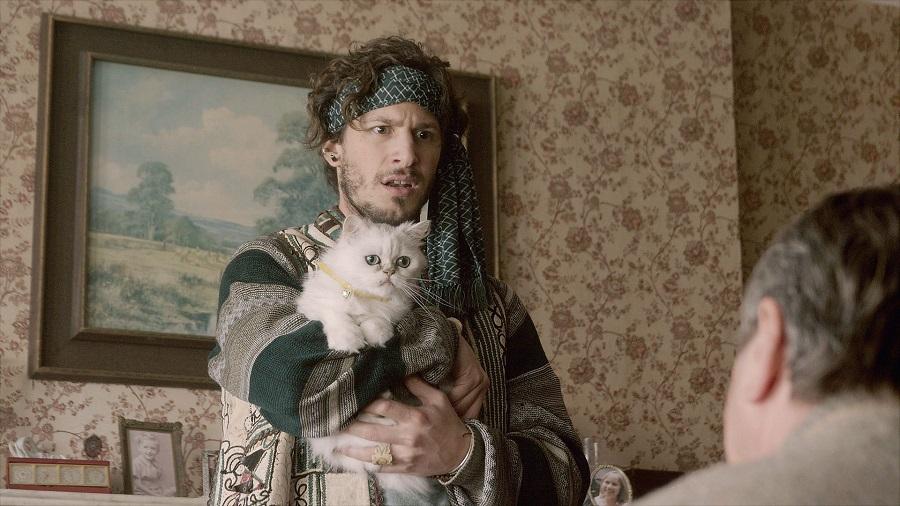 Puss in Cahoots: Andy Samberg (Cuckoo) in Netflix's  Cuckoo