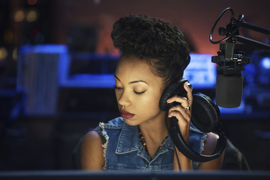 Listen Up: Logan Browning (Samantha) in Netflix's  Dear White People