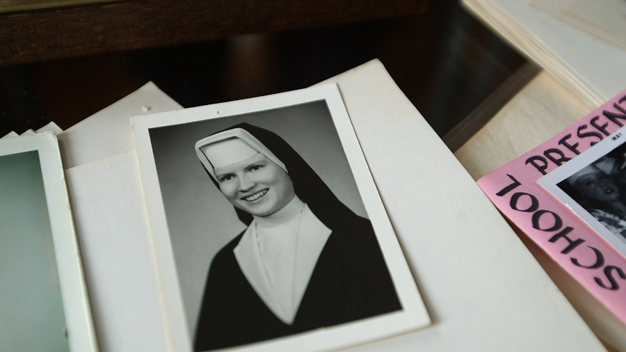 True Faith: An archival photo of Sister Catherine Cesnik in Netflix's  The Keepers