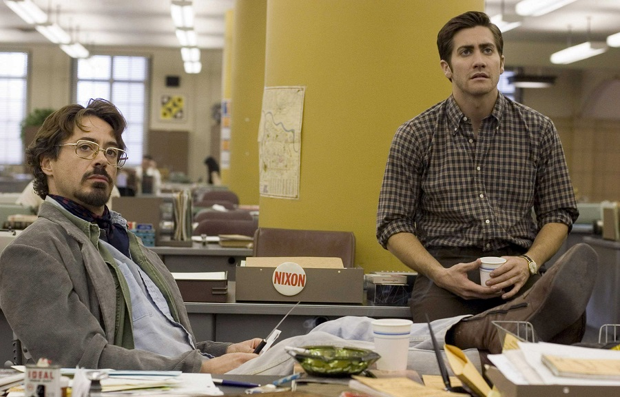 Bad Signs: Robert Downey Jr (Paul Avery) and Jake Gyllenhaal (Robert Graysmith) in  Zodiac