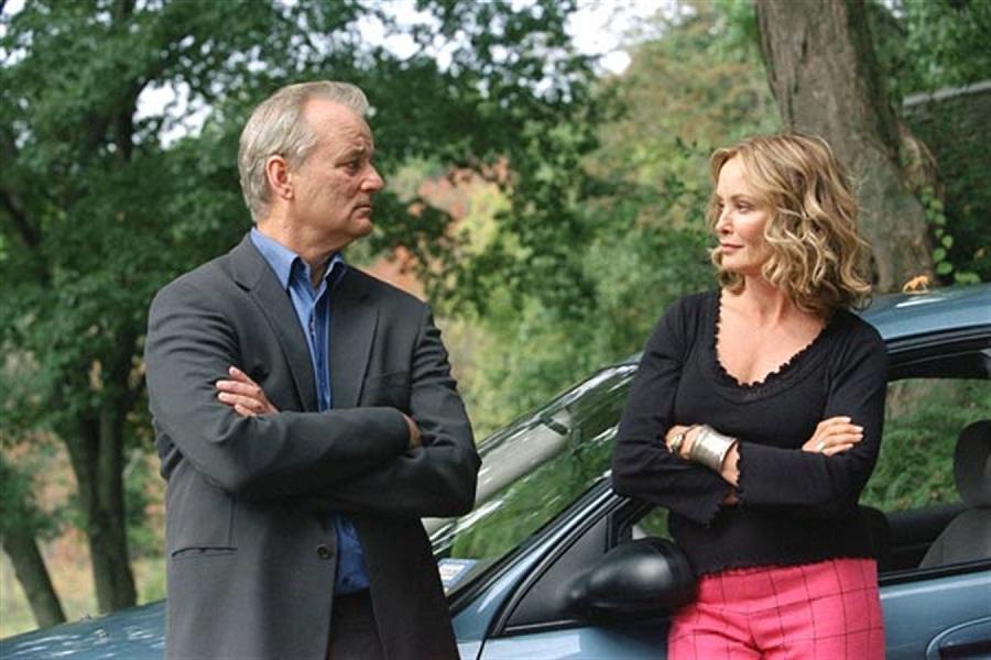 Brief Encounters: Bill Murray (Don) and Jessica Lange (Carmen) in SBS on Demand's  Broken Flowers