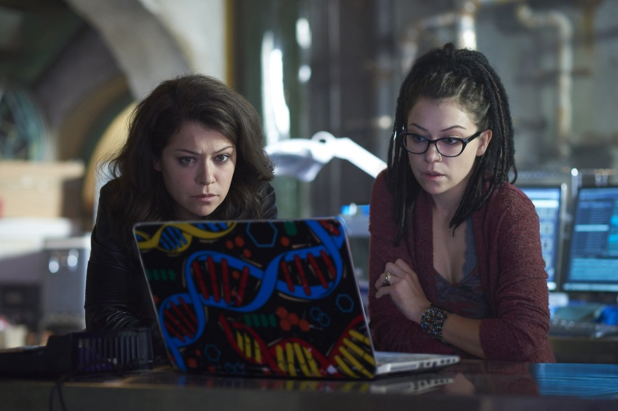 Your Number's Up: Sarah and Cosima (both Tatiana Maslany) in Netflix and Stan's  Orphan Black