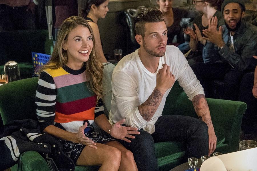 Age Appropriate: Sutton Foster (Liza) and Nico Tortorella (Josh) in Stan's  Younger