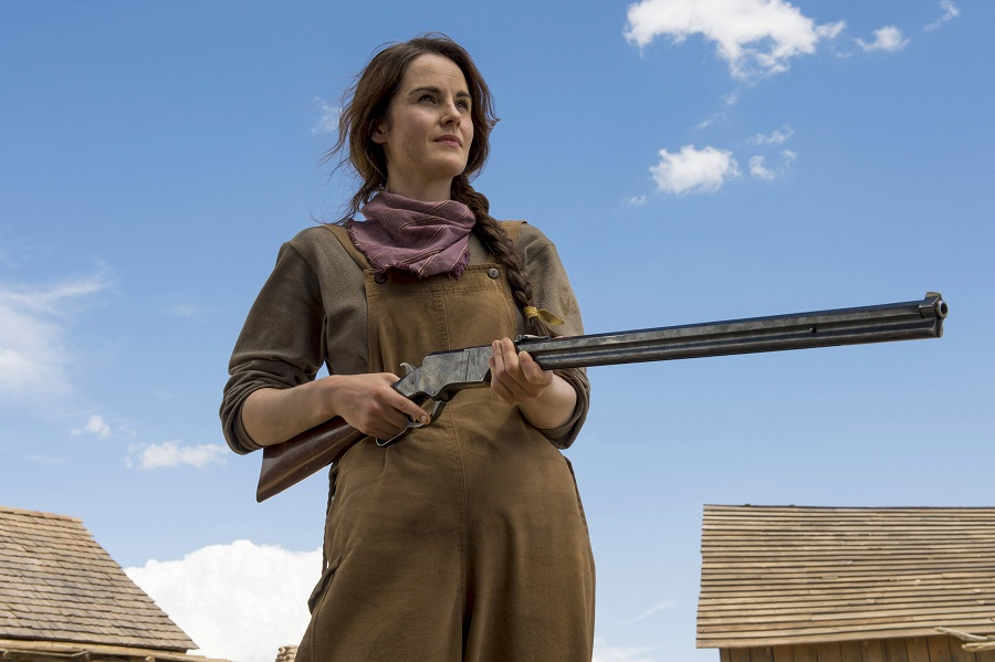 Cowgirl in the Sand: Michelle Dockery (Alice Fletcher) in Netflix's  Godless