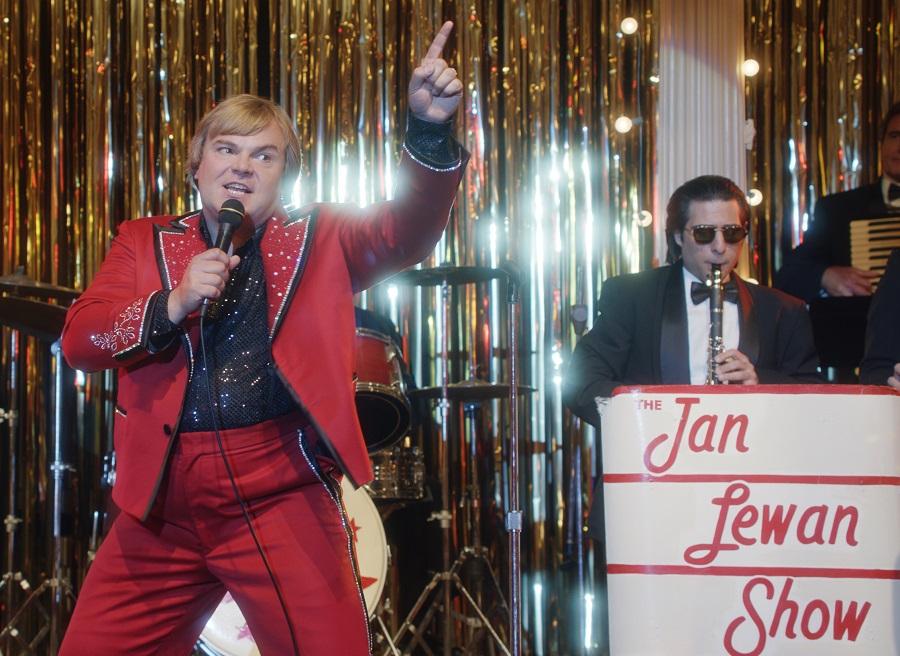 Caught Red Panted: Jack Black (Jan Lewan) and Jason Schwartzman (Mickey Stutz) in Netflix's  The Polka King