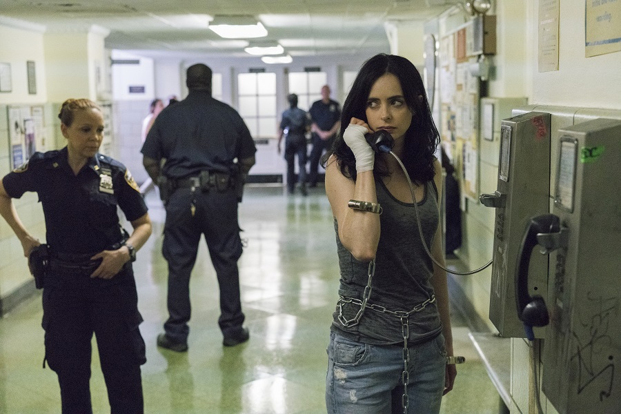 Hanging on the Telephone: Krysten Ritter (Jessica) in Netflix's  Jessica Jones