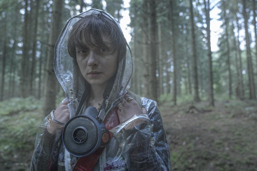 Drip Dry: Angela Bundalovic (Beatrice) in Netflix's  The Rain