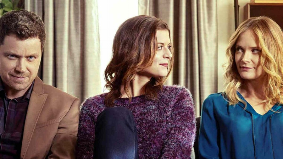 Power Trio: Greg Poehler (Jack), Priscilla Faia (Izzy) &Rachel Blanchard (Emma) in  You Me Her