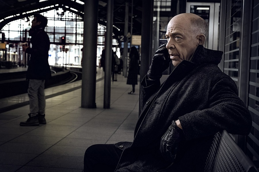Two Worlds Collide: J.K. Simmons (one of the Howard Silk's) in  Counterpart
