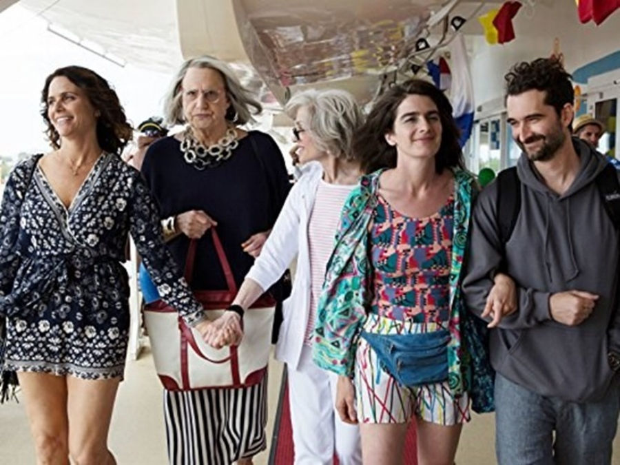 A Family Affair: (L-R) Amy Landecker, Jeffrey Tambor, Judith Light, Gaby Hoffman and Jay Duplass in Stan's  Transparent