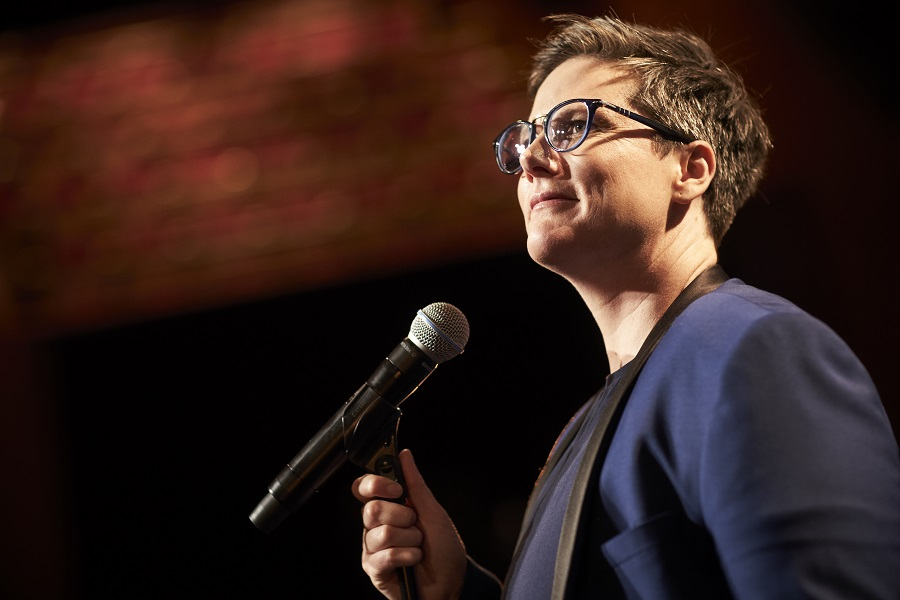 The Living End: Hannah Gadsby onstage in  Hannah Gadsby: Nanette