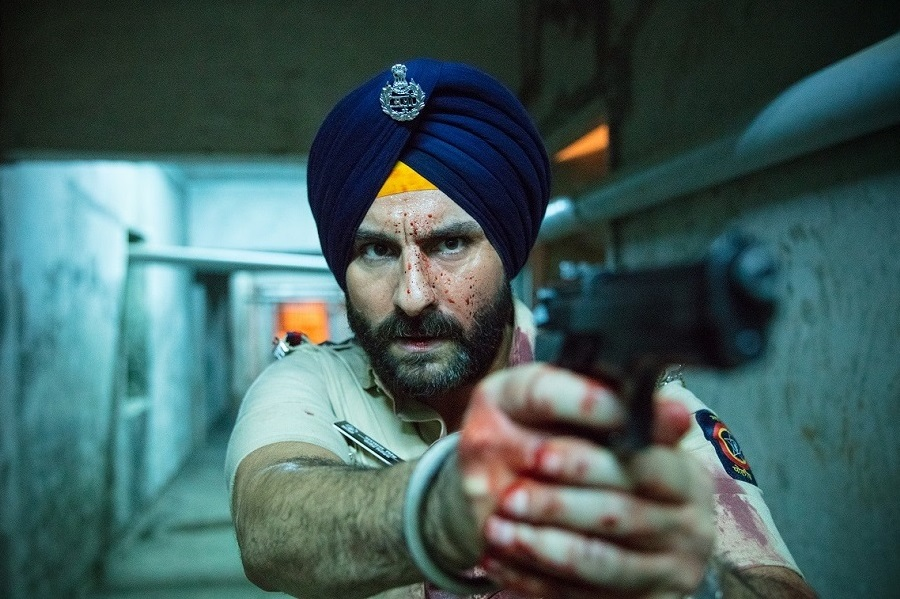 The Final Countdown: Saif Ali Khan (Inspector Sartaj Singh) in  Sacred Games