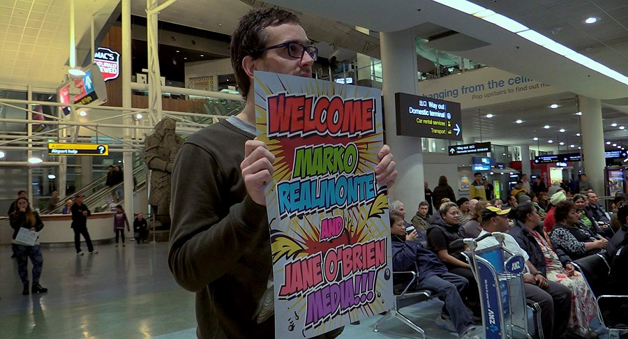 Funny Bones: Journalist David Farrier in the documentary  Tickled